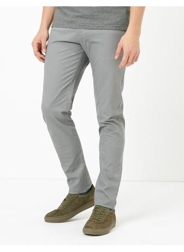 Marks & Spencer Slim Fit Streç Chino Pantolon Gri